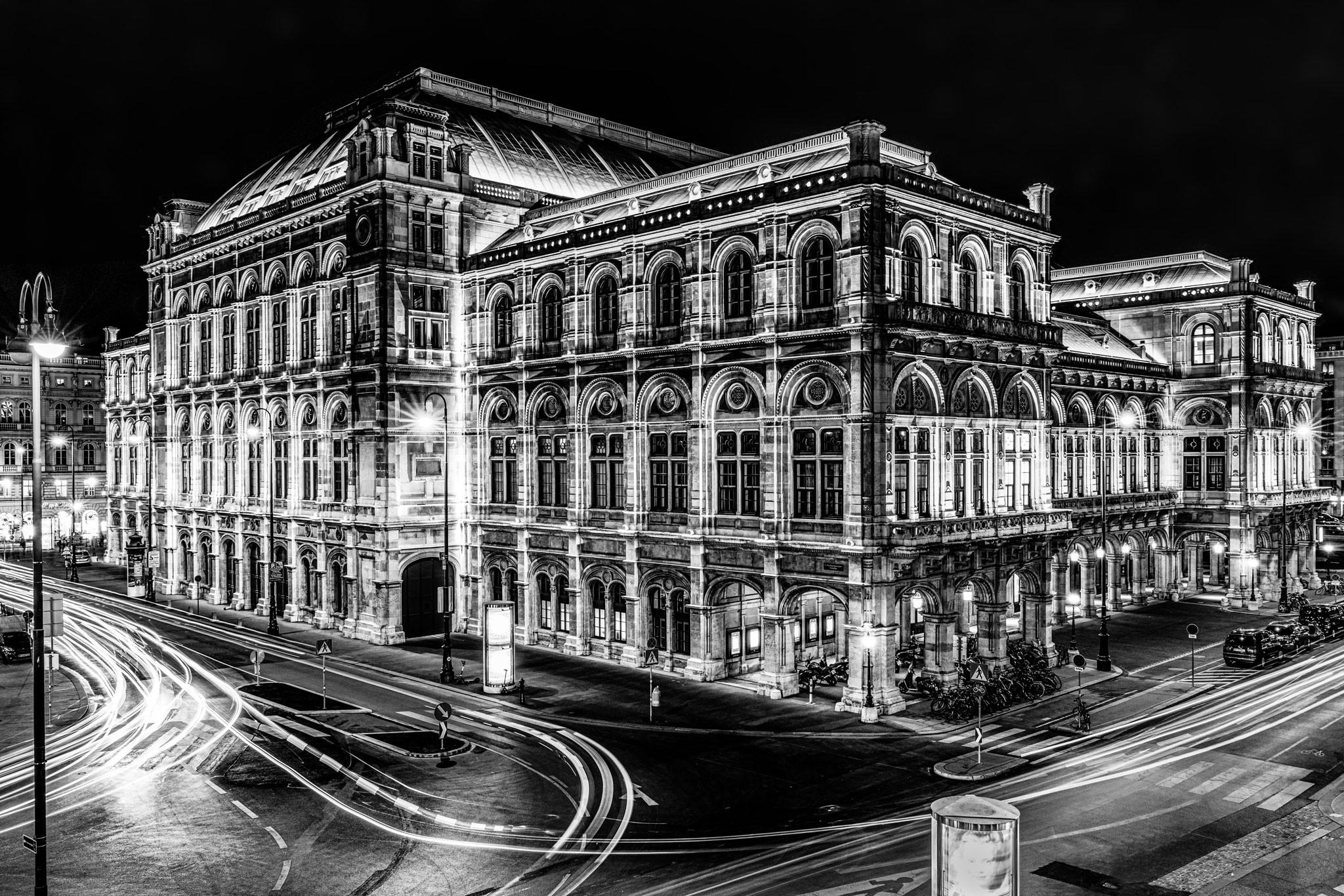 Nachtfotografie Andy Ilmberger Wiener Oper