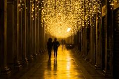 Nachtfotografie Birgit Rilk Venedig Markusplatz
