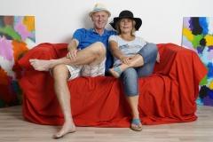 "Impressionen vom ""Roten Sofa"""