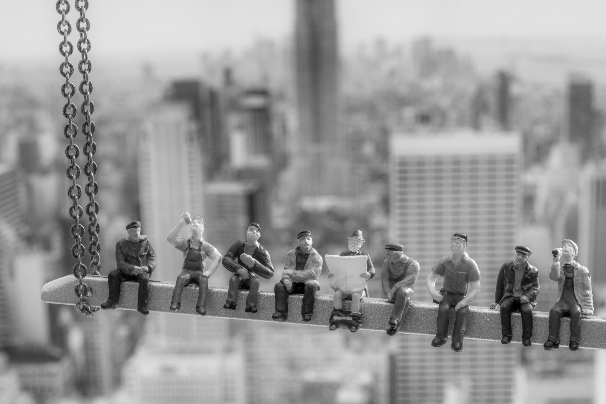 H0-Helden: Men at Work (Foto: Andy Ilmberger)