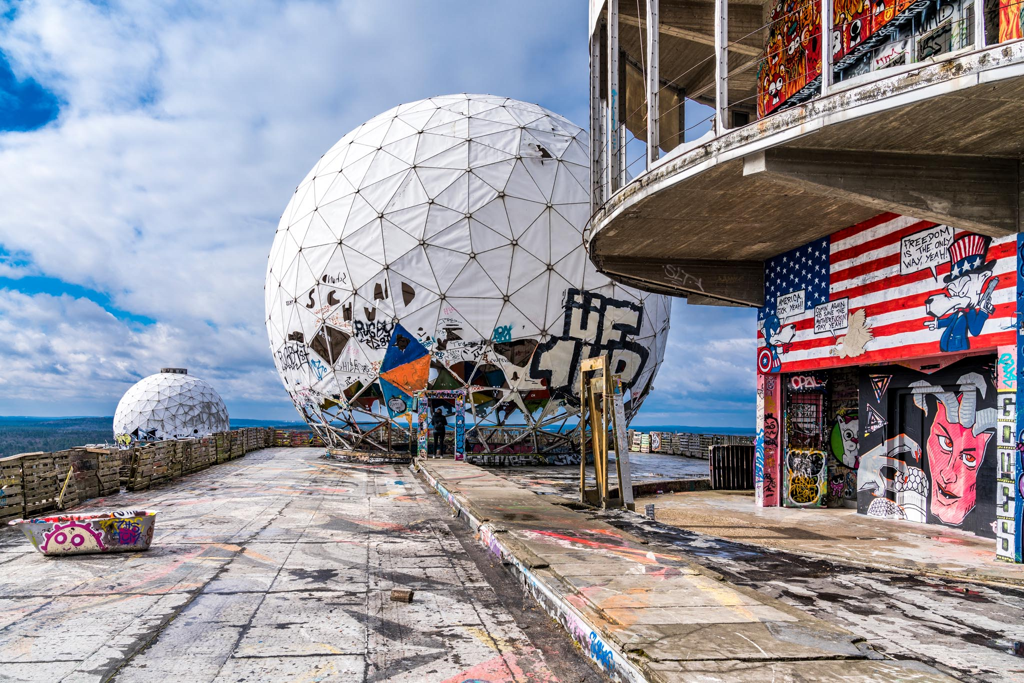 Lost Places Teufelsberg 02 (Foto: Andy Ilmberger)