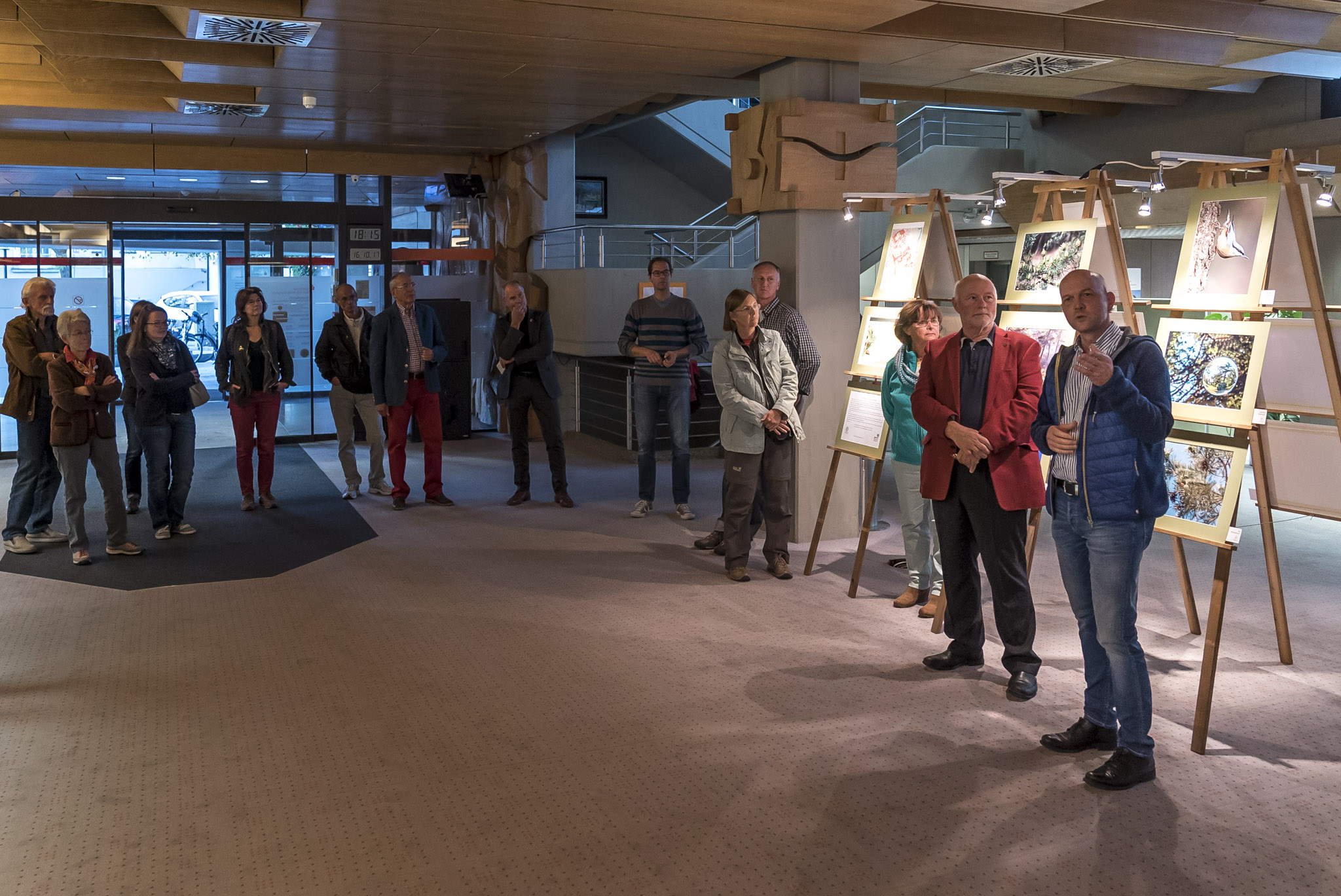 Vernissage zur Föhren-Ausstellung des Fotoclub Wolfratshausen und des Bund Naturschutz