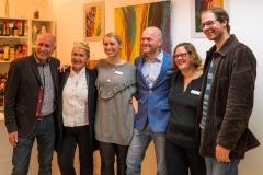 Fritz Schaller, Roswitha Muth, Birgit Rilk, Thomas Hirschmann, Tanja Schulte, Niklas Neubauer (v.l.n.r.) (Foto: Andy Ilmberger)