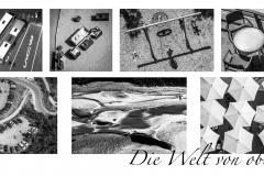 """Fototableau """"Die Welt von oben"""", (c) Sandra Ilmberger"""