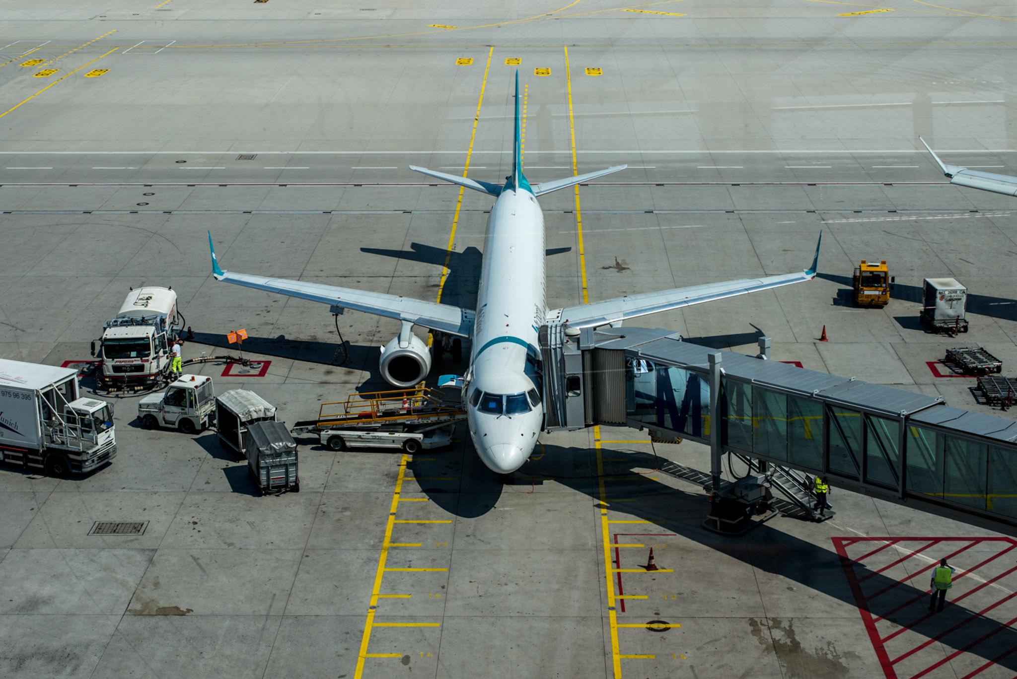 Flugzeug (Foto: Niklas Neubauer)