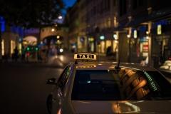 Taxi in Town (Foto: Niklas Neubauer)