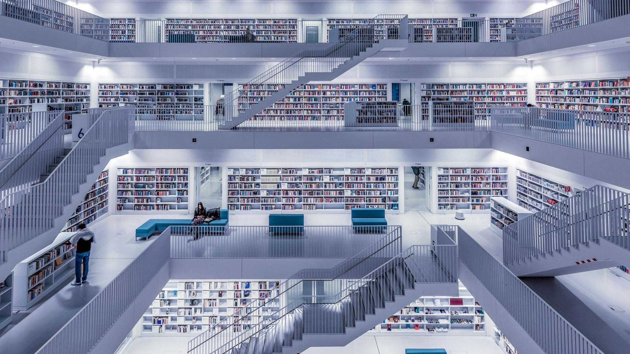 Stadtbibliothek (Foto: Niklas Neubauer)