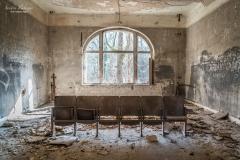 Der Hörsaal (Foto: Sandra Ilmberger)