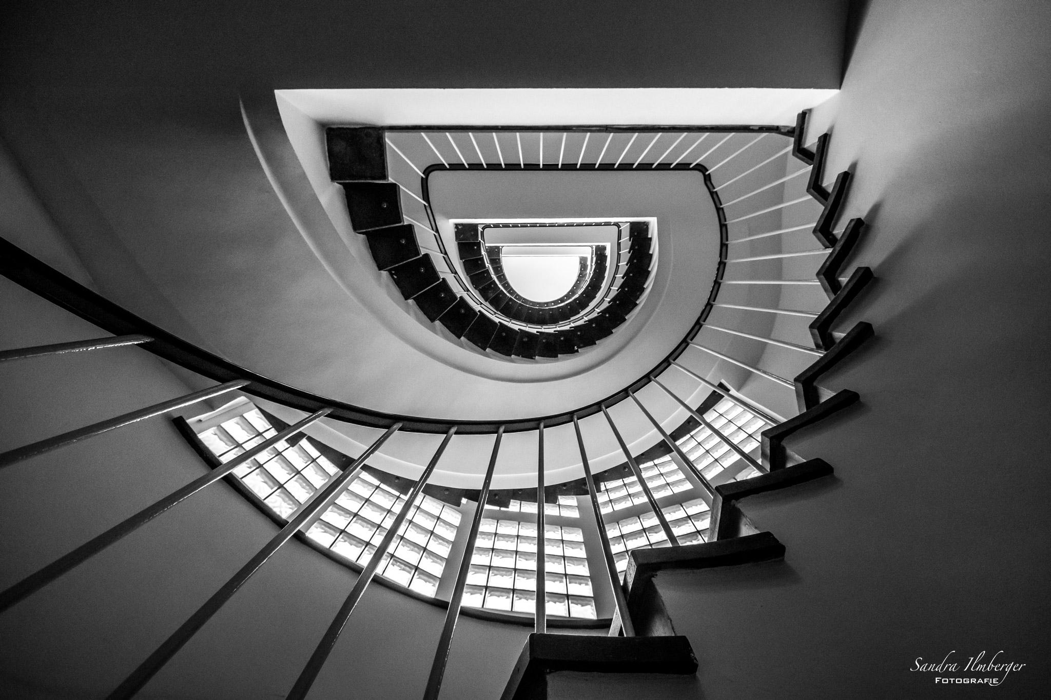 Schwarze Spirale (Foto: Sandra Ilmberger)