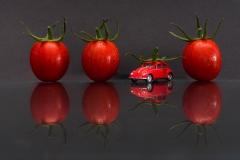 Stillleben Tomaten und Käfer (Foto: Andy Ilmberger)