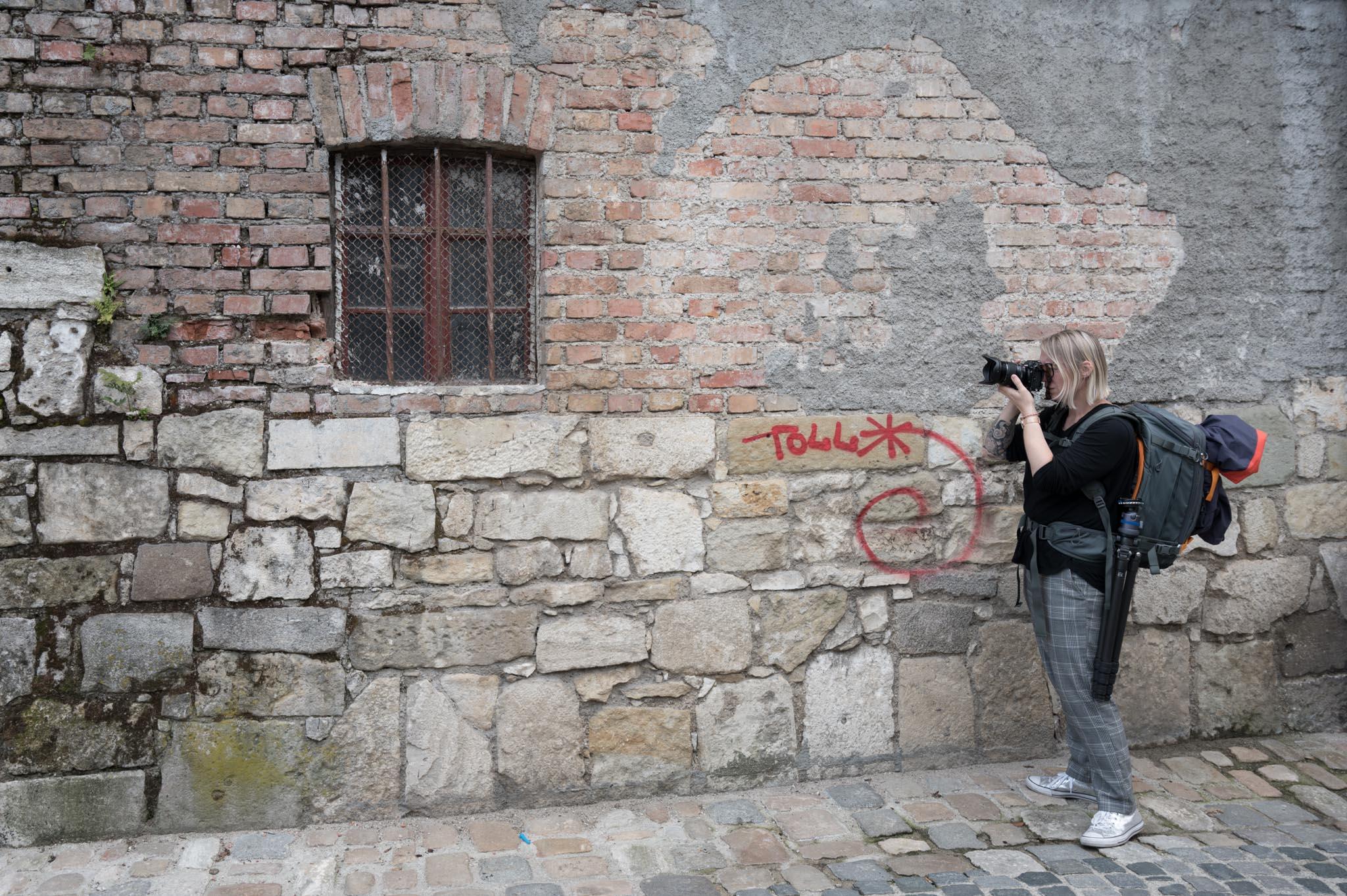 Hinter den Kulissen: Shooting in Regensburg (Foto: Tom Hirschmann)