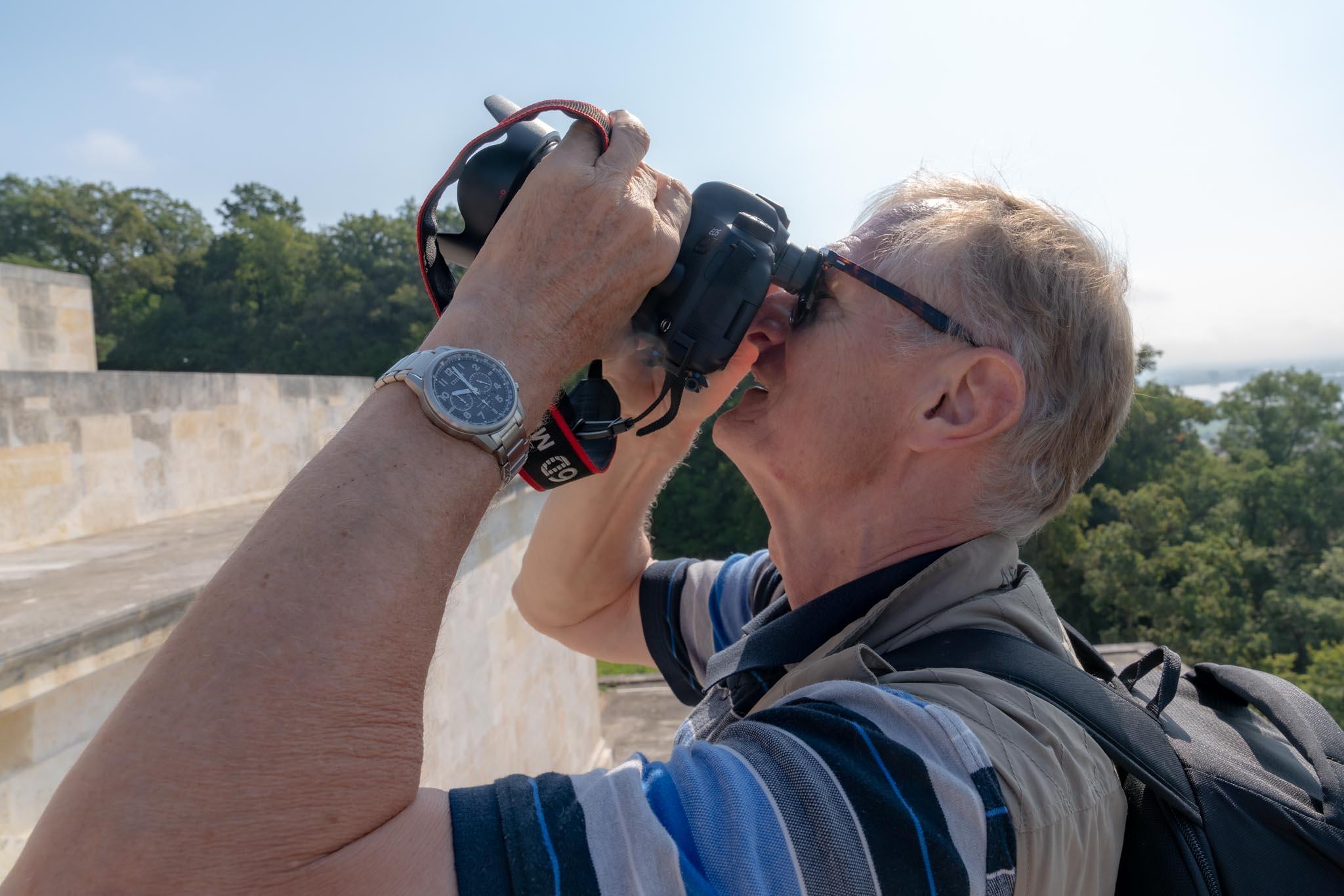 Hinter den Kulissen: Shooting auf der Walhalla (Foto: Andy Ilmberger)