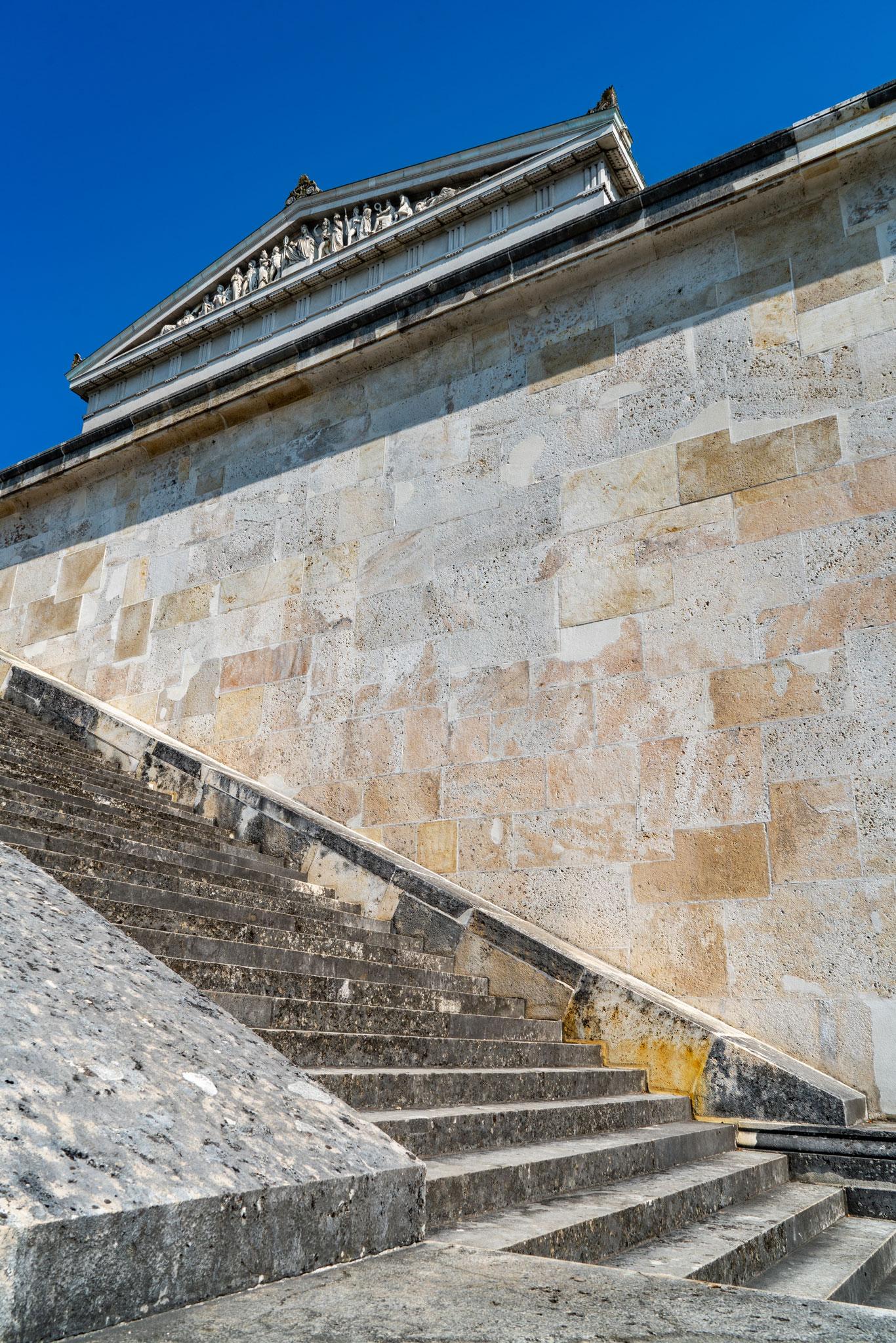Die Treppe zum Tempel (Foto: Sandra Ilmberger)