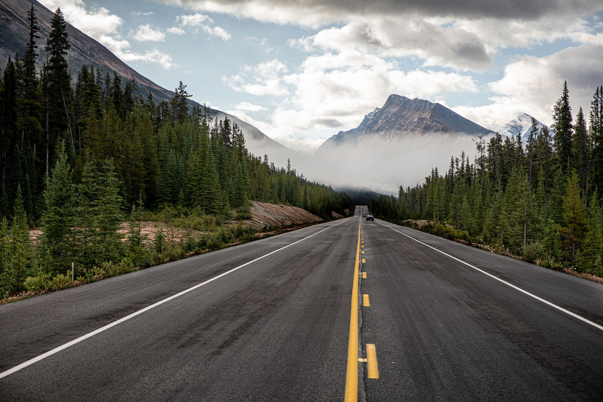 Columbia Icefields Parkway (Foto: Andreas Ochsenkühn)
