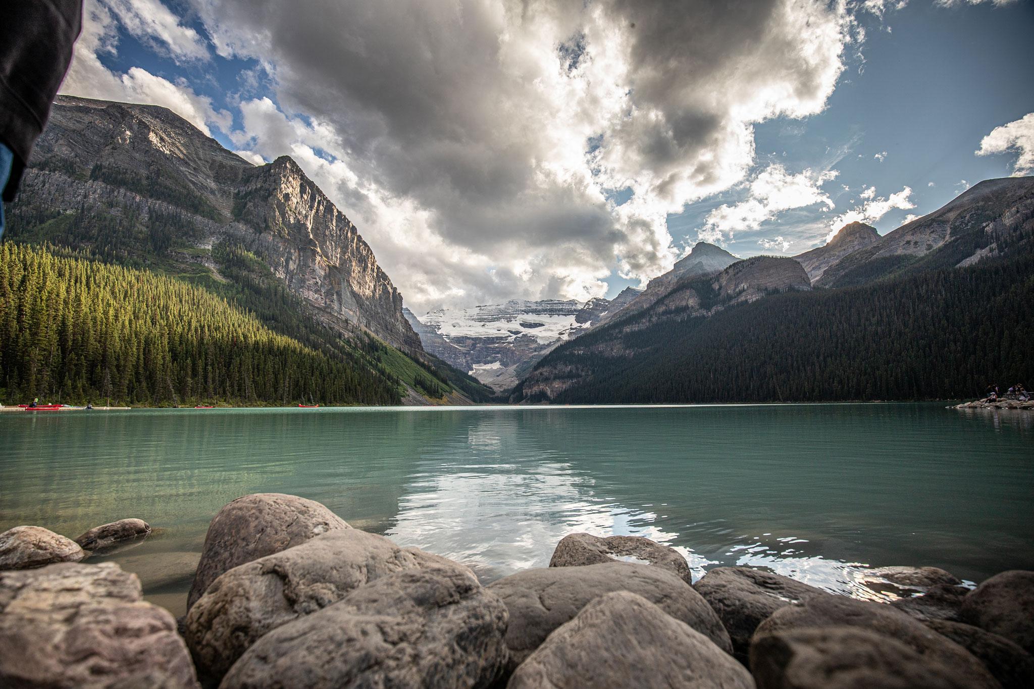 Lake Louise  (Foto: Andreas Ochsenkühn)