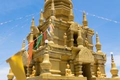 Buddha-Tempel auf Koh Samui (Foto: Birgit Rilk)