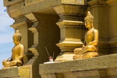 Goldene Buddhas (Foto: Birgit Rilk)