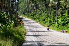 Einsame Straßen auf dem Inselparadies (Foto: Birgit Rilk)