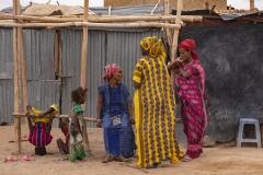 Dorfszene in der Wüste (Foto: Peter Schreyer)