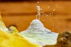 Heiße Salzquelle im Dallol (Foto: Peter Schreyer)