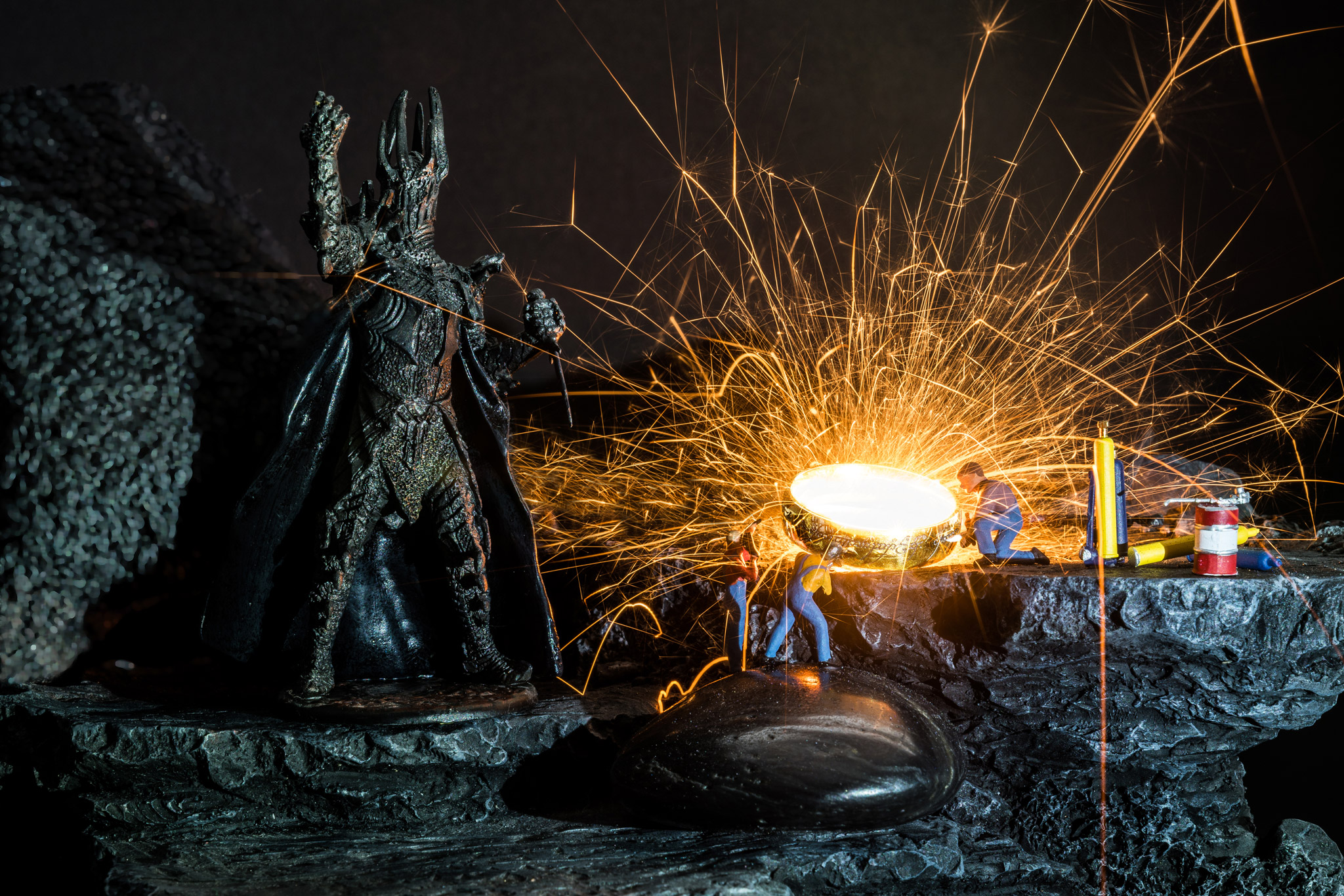 H0-Helden: Sauron's Ring (Foto: Andy Ilmberger)