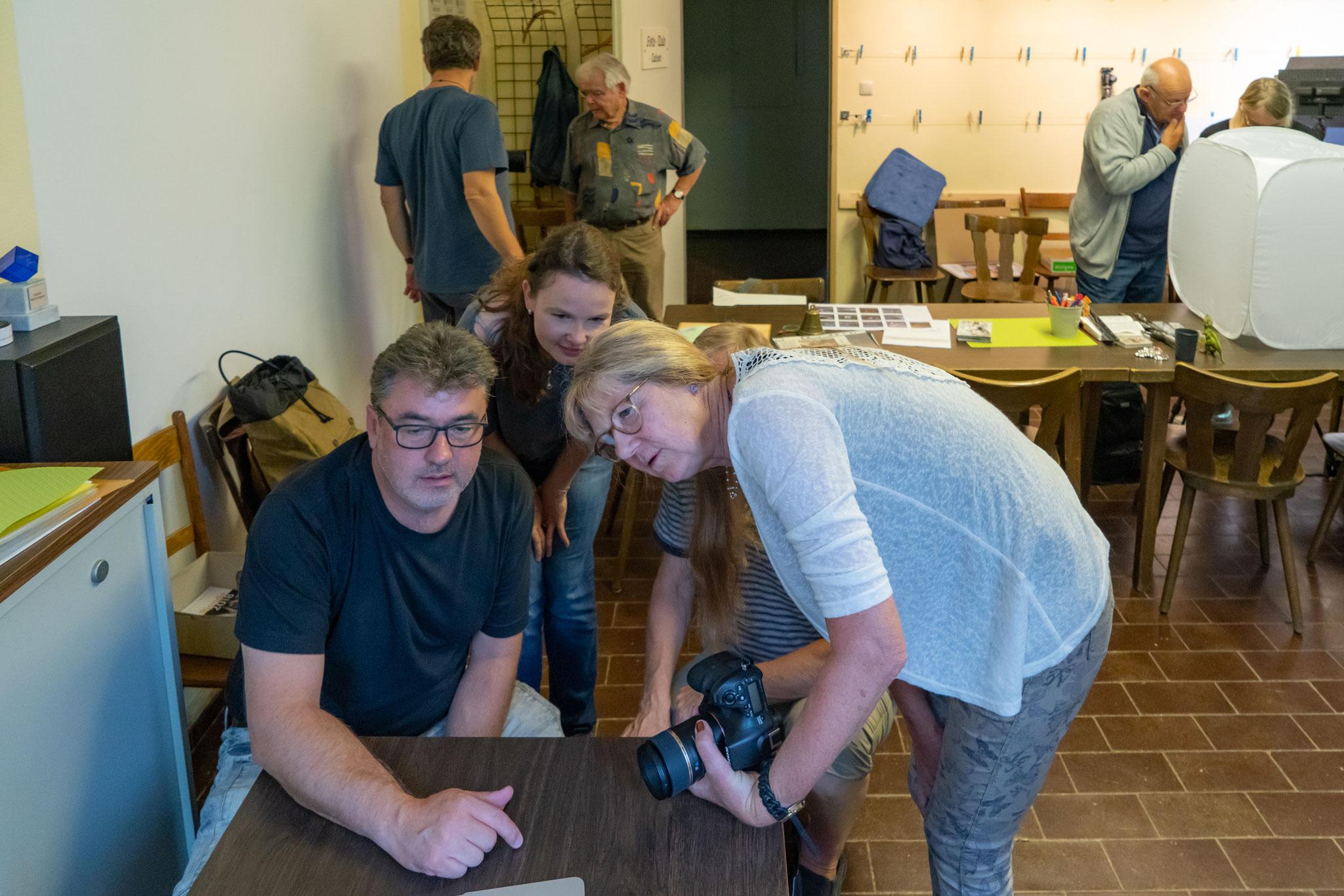 Workshop Focus-Stacking © Sandra Ilmberger