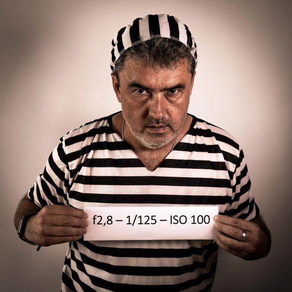 Selfie von Andy Ilmberger als Gefangener seiner Fotoleidenschaft.