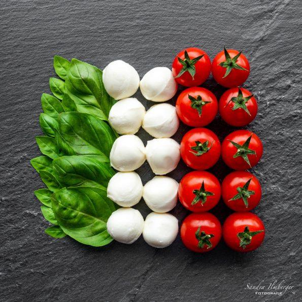 Italienische Flagge von Sandra Ilmberger
