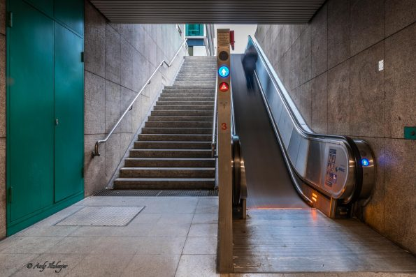 Rolltreppe, Andy Ilmberger