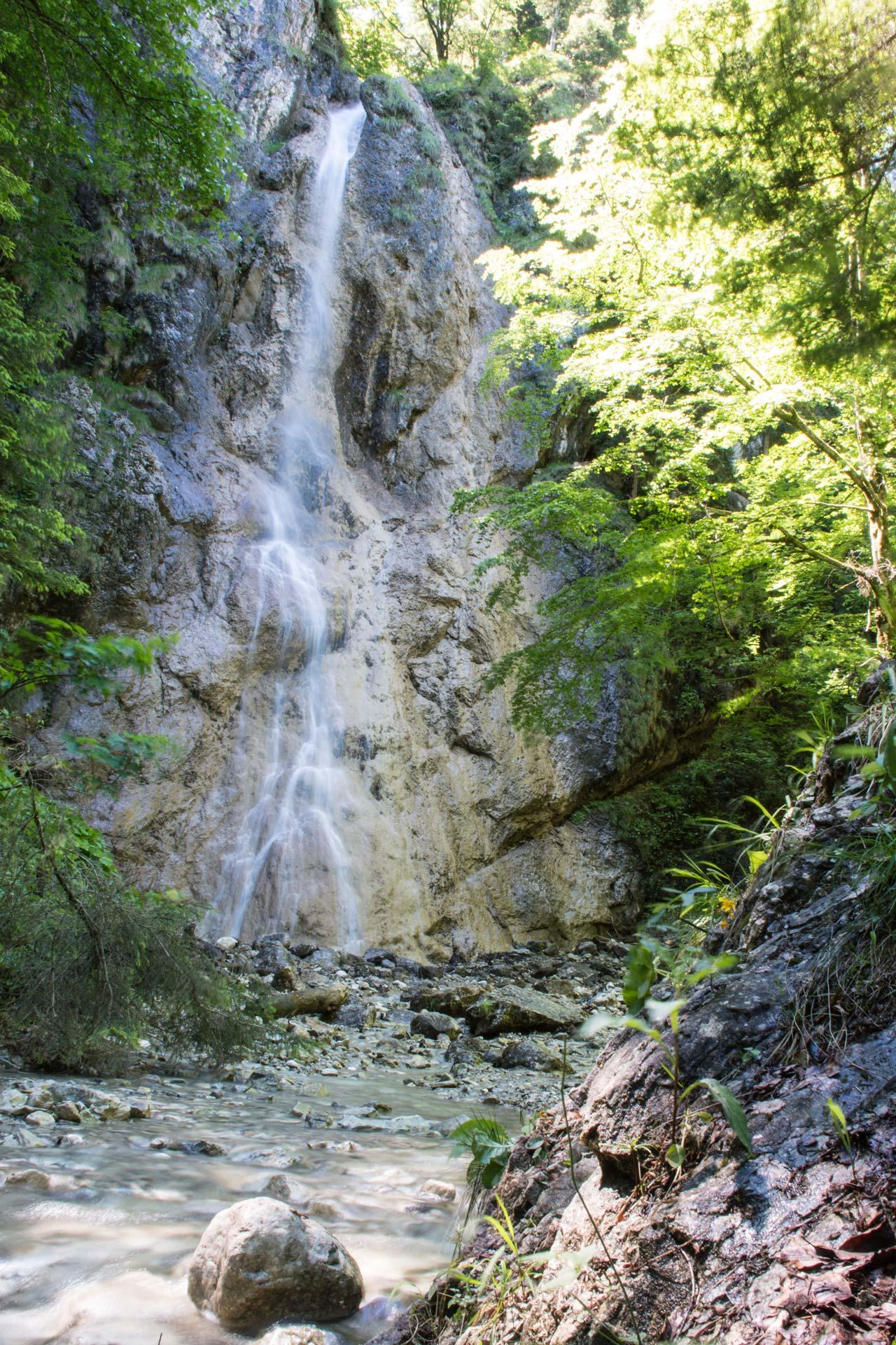 Ohlstädter Wasserfall, Steffi Linke