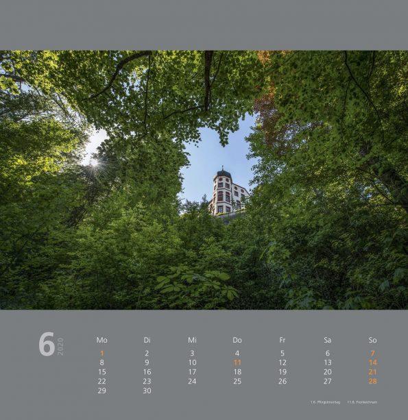 Raiba Kalender 2020 Juni