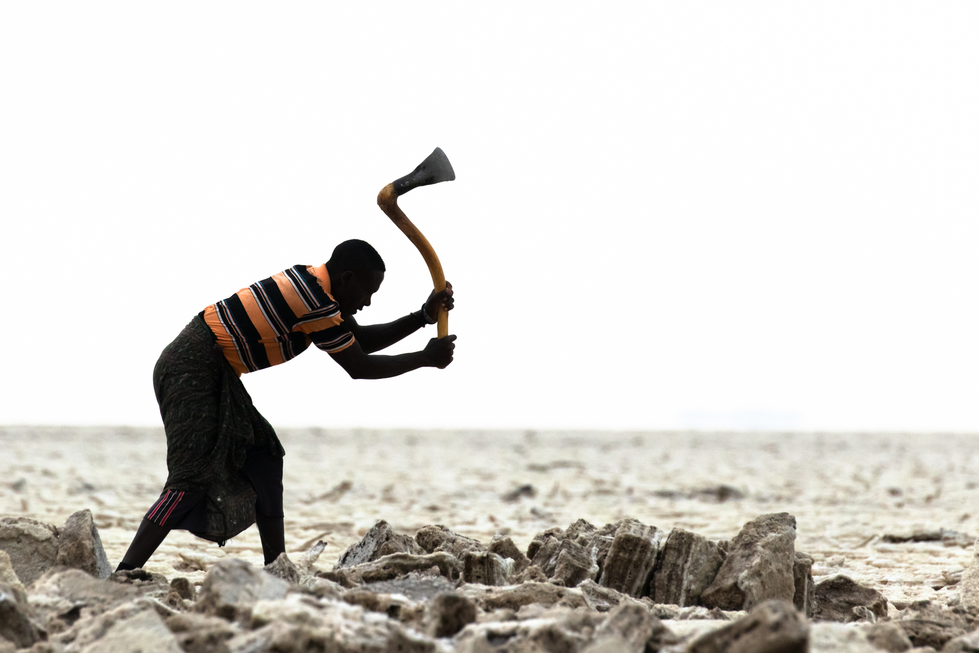 Salzarbeiter Äthiopien, Peter Schreyer